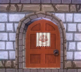 Door to Savvy's Attic