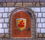 Door to Scarlet's Game Room